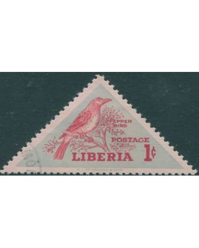 Liberia 1953 SG735 1c Pepper Bird FU
