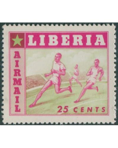 Liberia 1955 SG761 25c Running MNH