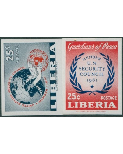 Liberia 1961 SG844 UN Security Council MS imperf MNH