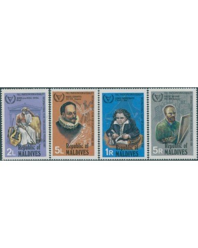 Maldive Islands 1981 SG941-944 Disabled People set MNH