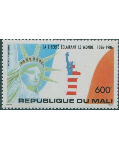 Mali 1986 SG1092 600f Statue of Liberty MNH