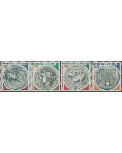 Mali 1975 SG508-511 Ancient Coins set MNH
