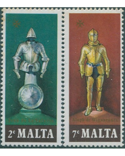 Malta 1977 SG572-573 Suits of Armour MNH