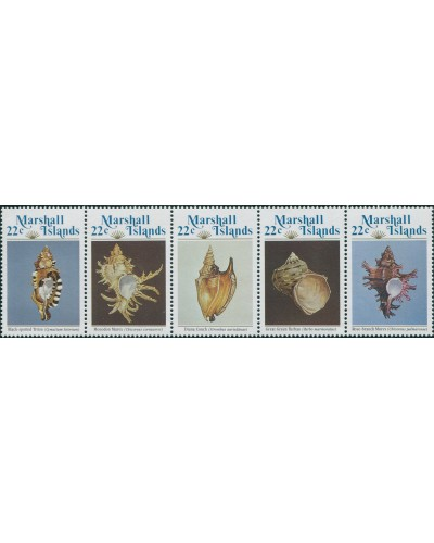 Marshall Islands 1985 SG41-45 Sea Shells set MNH