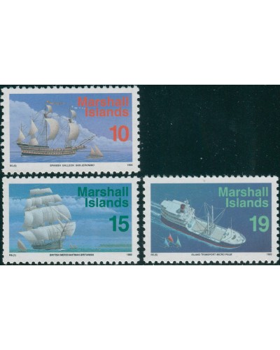 Marshall Islands 1993 SG485-488 Ships MNH