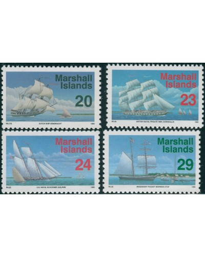 Marshall Islands 1993 SG489-492 Ships MNH