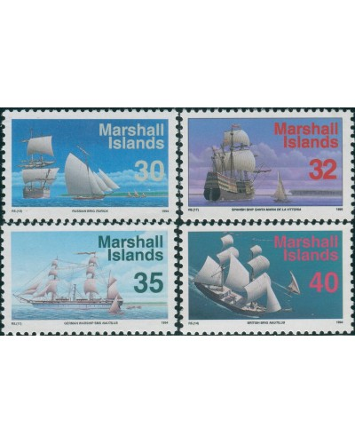 Marshall Islands 1993 SG493-496 Ships MNH