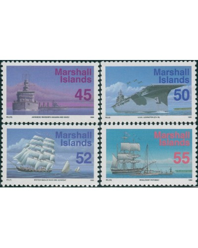 Marshall Islands 1993 SG497-501 Ships MNH