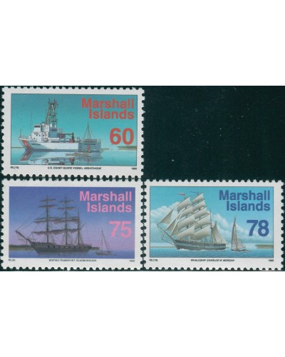 Marshall Islands 1993 SG502-504 Ships MNH