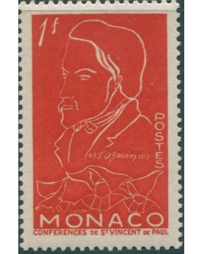 Monaco 1953 SG478 1f Ozanam sketch MLH