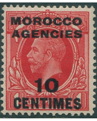 Morocco Agencies 1935 SG217 10c on 1d red KGV MLH