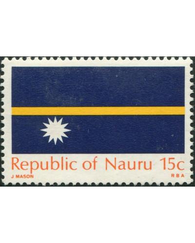 Nauru 1969 SG96 15c Flag MNH