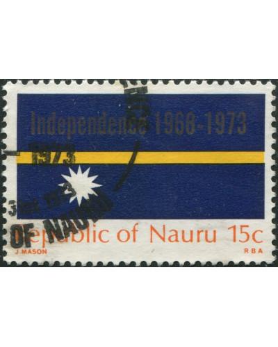 Nauru 1973 SG98 15c Flag FU