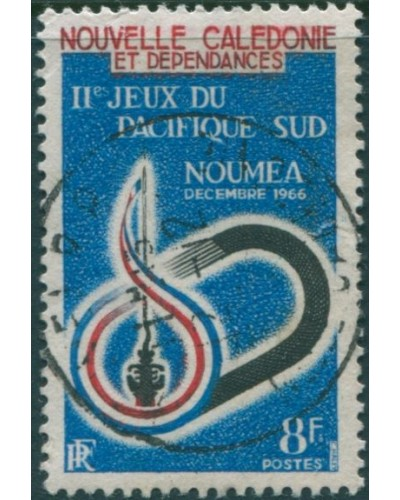 New Caledonia 1966 SG400 8f South Pacific Games FU