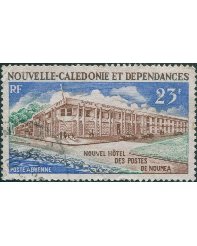 New Caledonia 1972 SG508 23f Post Office FU