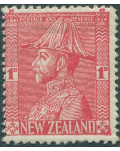 New Zealand 1926 SG468 1d red KGV MLH