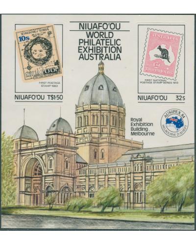 Niuafo'ou 1984 SG50 Ausipex MS MNH