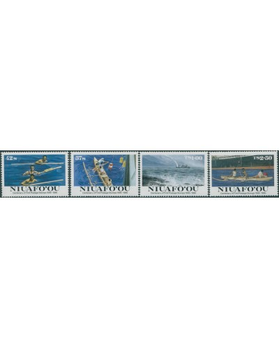 Niuafo'ou 1986 SG85-88 First Stamps set MNH
