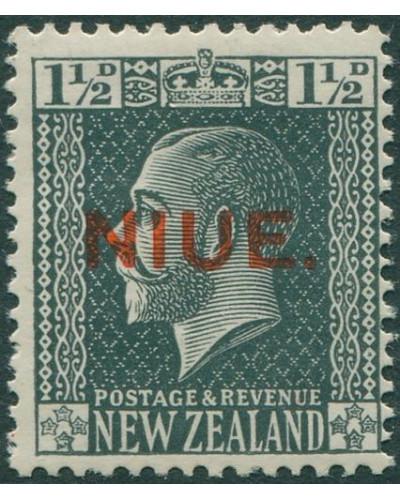Niue 1917 SG25 1½d slate KGV MLH