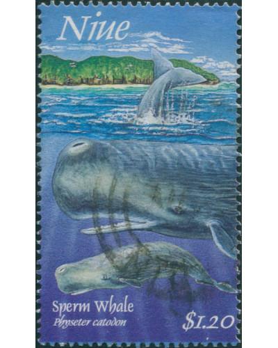 Niue 1997 SG829 $1.20 Sperm Whale FU