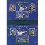 Norfolk Island 2002 SG795X South Pacific Games *** UNISSUED *** MS set MNH