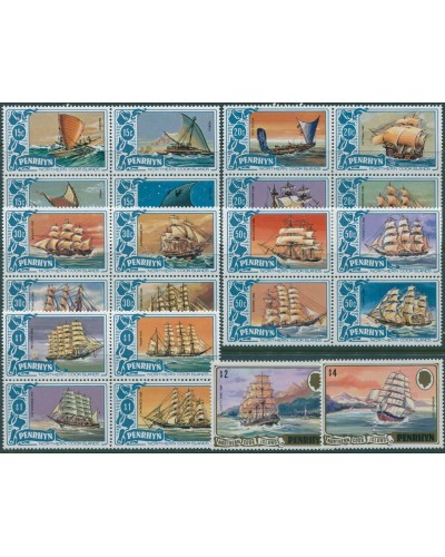 Cook Islands Penrhyn 1981 SG186-207 Ships MNH/MLH