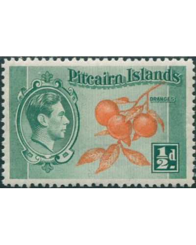 Pitcairn Islands 1940 SG1 ½d Oranges MH