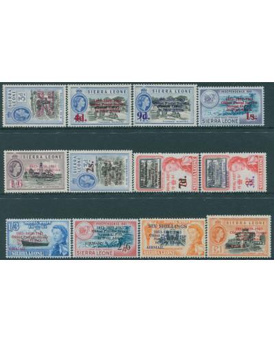 Sierra Leone 1963 SG273-284 Postal Commemorations set MNH