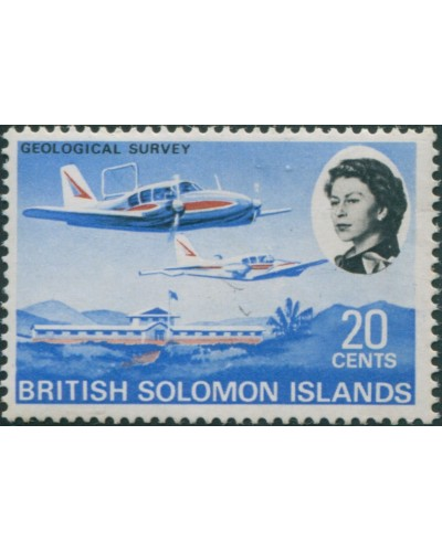 Solomon Islands 1968 SG175 20c Geological Survey MLH