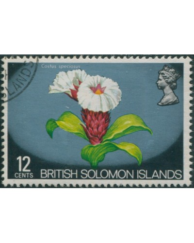 Solomon Islands 1972 SG226 12c Flower FU