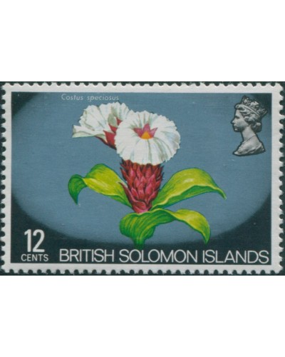 Solomon Islands 1972 SG226 12c Flower MNH