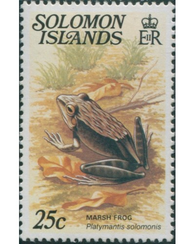 Solomon Islands 1979 SG397A 25c Marsh Frog MNH
