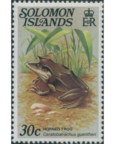 Solomon Islands 1979 SG398A 30c Horned Frog MNH