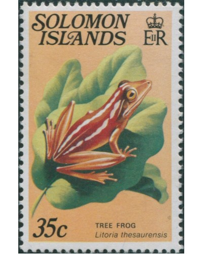 Solomon Islands 1979 SG399A 35c Tree Frog MNH