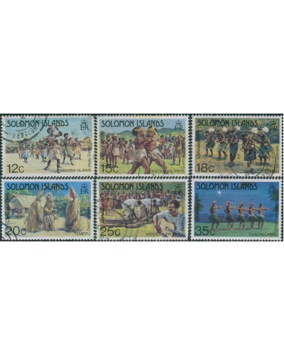 Solomon Islands 1983 SG498-506 Christmas set part FU