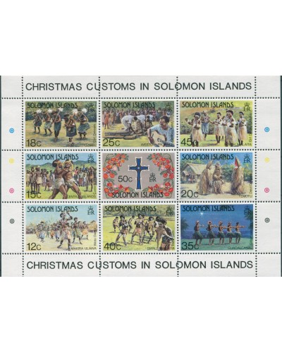 Solomon Islands 1983 SG507 Christmas MS MNH