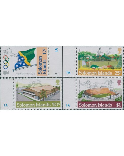 Solomon Islands 1984 SG528-531 Olympic Games set MNH