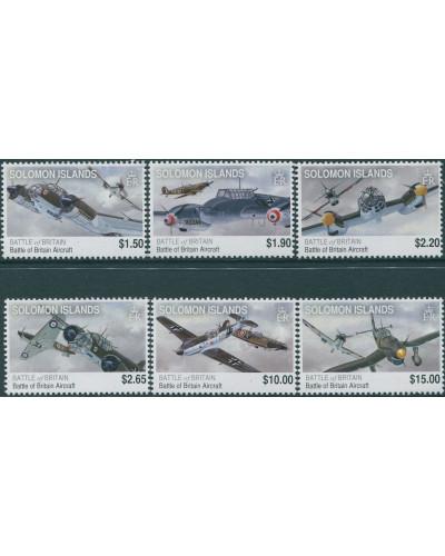 Solomon Islands 2010 SG1274-1279 Battle of Britain set MNH