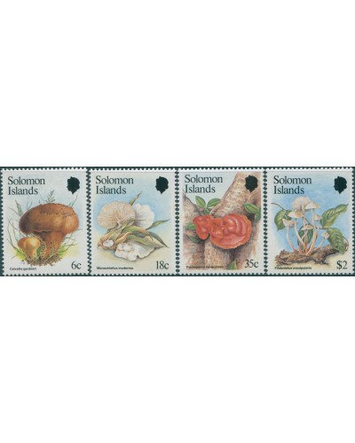 Solomon Islands 1984 SG513-516 Fungi set MNH