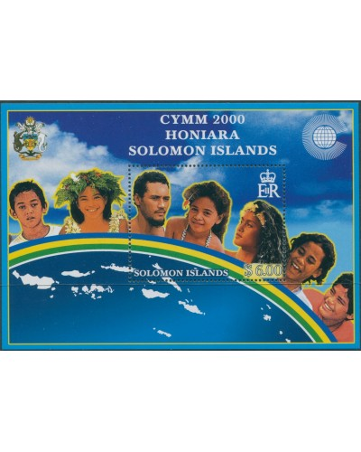 Solomon Islands 2000 SG964 Commonwealth Youth Ministers MS MNH