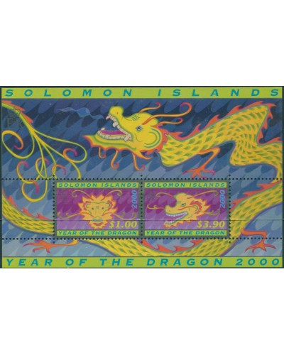 Solomon Islands 2000 SG968 Chinese Year of the Dragon MS MNH