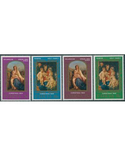 St Lucia 1969 SG272-275 Christmas set MNH
