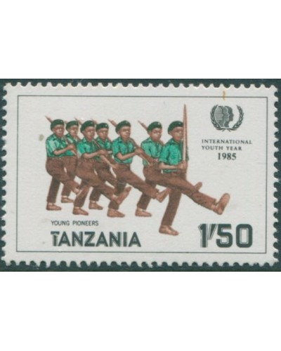 Tanzania 1986 SG451 1s.50 Young Pioneers MNH