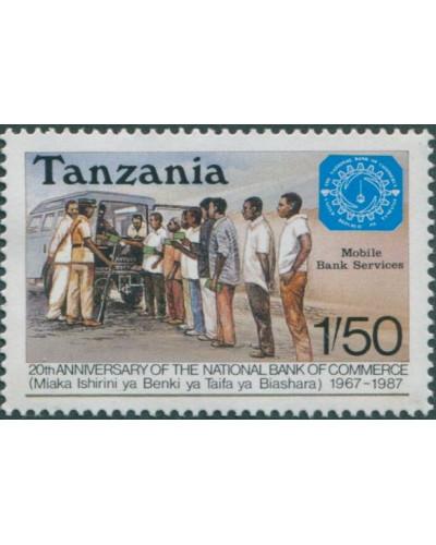 Tanzania 1987 SG504 1s.50 Mobile Bank Service MLH