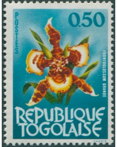 Togo 1964 SG344 50c Orchid MLH