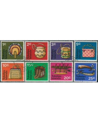 Tokelau 1971 SG25-32 Handicrafts set FU