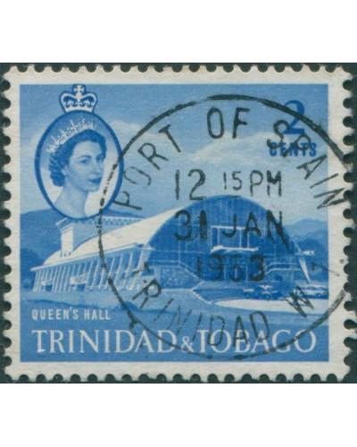 Trinidad and Tobago 1960 SG285 2c blue Queens Hall