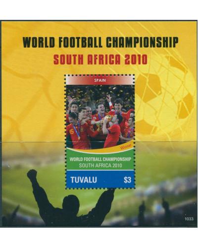 Tuvalu 2010 SG1406 Football World Cup MS MNH