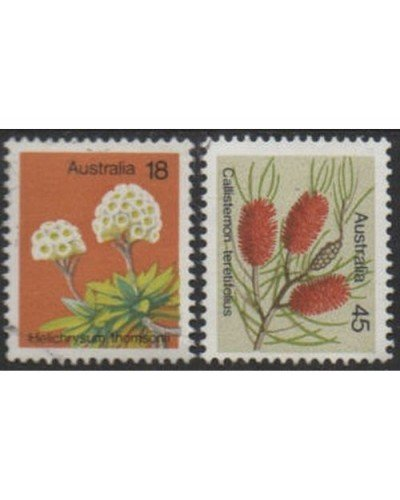 Australia 1975 SG608 Wildflowers set FU