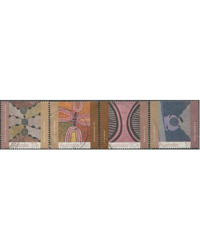 Australia 1988 SG1150-1153 Aboriginal Paintings set FU